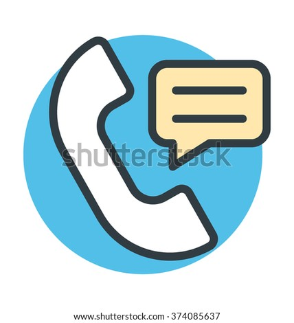 Telecommunication Vector Icon