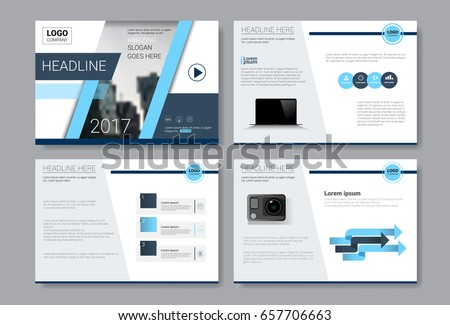 business presentation slides templates infographic elements stock, Powerpoint templates