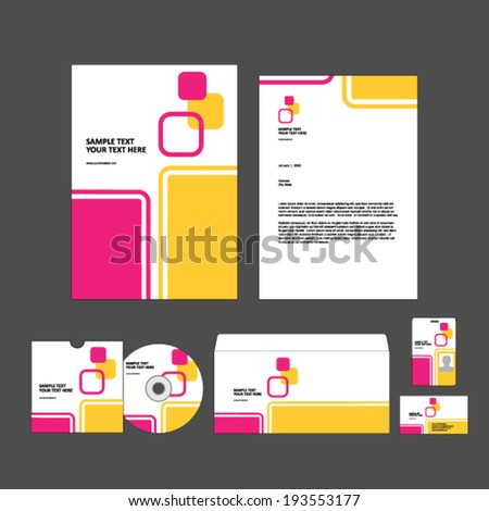 Template for Business artworks.