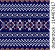 Textile pattern - stock photo