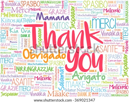 how to say thank you in different languages 10 languages