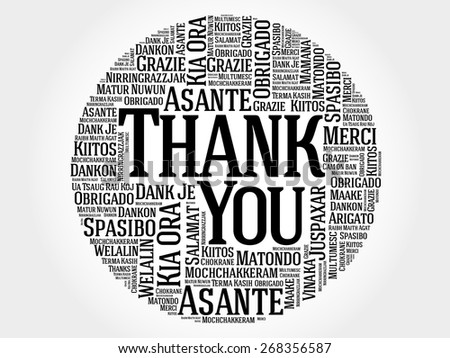 how to say thank you in 10 different languages