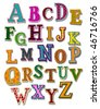 The Alphabet - Vector - stock vector