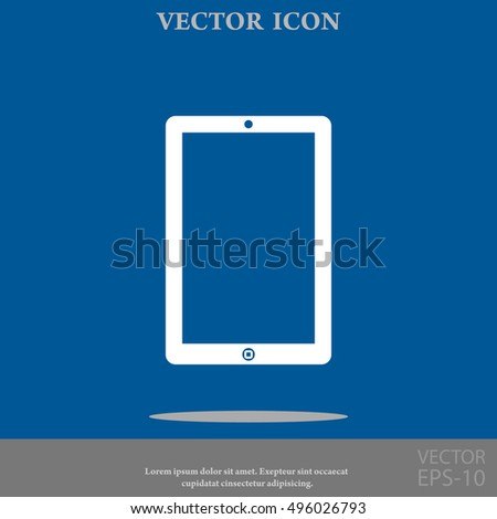 touchpad vector icon