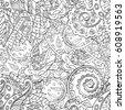 tracery seamless pattern....