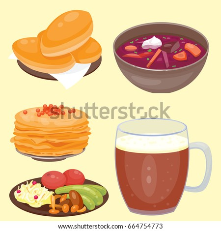 List of Russian dishes