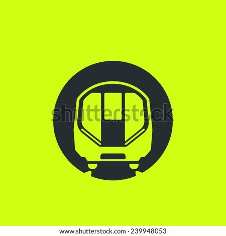 Underground Vector Train Icon Modern Metr...