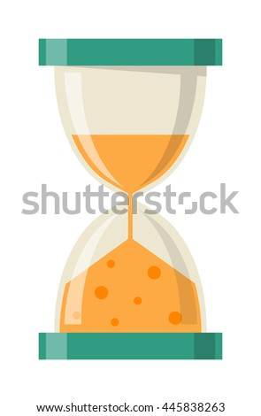 Sandglass icon  Transparent Sandglass Icon Time Hourglass Sand Stock Vector ...