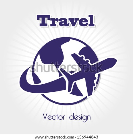 Transport infographics online travel agency vector stock for Waldo s world wide travel service