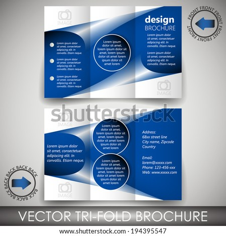 free business cards templates for word unique tri fold business card