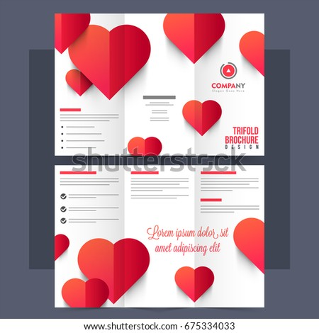 World aids day set banners flyers stock vector 337871390 for Aids brochure template