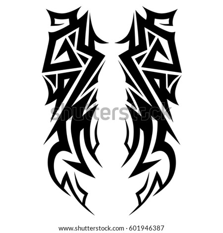 tribal vector knight helmet stock vector 140575483 shutterstock. Black Bedroom Furniture Sets. Home Design Ideas