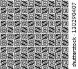 tribal vector pattern - stock photo