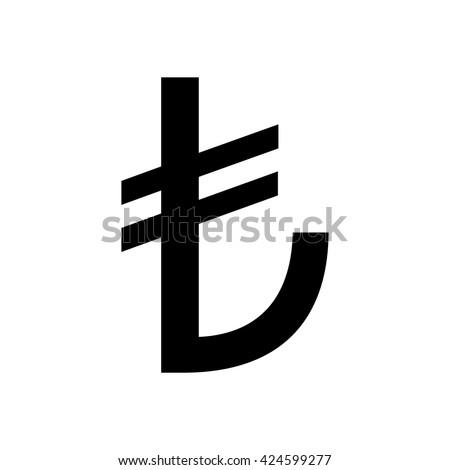 Turkish lira sign