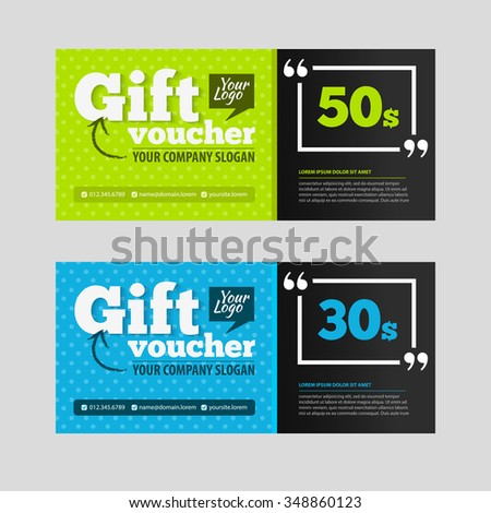 Gift Discount Voucher Food Restaurant Cafe Vector 367634603 – Restaurant Coupon Template