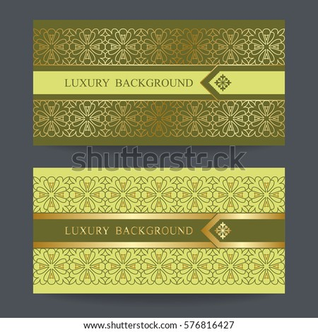 Two design template premium gift certificate stock vector two design template for premium gift certificate card voucher banners labels yadclub Gallery