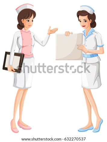 Dress couple kitchen woman dressed french stock vector for Uniform spa vector