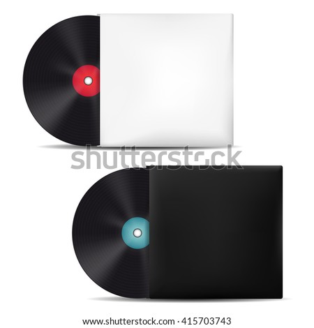 how to make a vinyl record sleeve