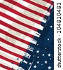 usa background , vector illustration EPS10. Contains transparent objects - stock photo