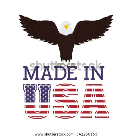 Eagle Head Logo Vector Illustration Emblem Stock Vector ...