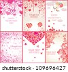 Valentine's banners - stock photo
