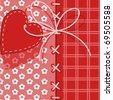 Valentines Day. heart 8. Similar in a portfolio - stock vector