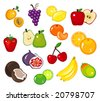Various Fruits Part 1 - stock vector