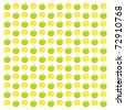Vector - A crisp & fresh mini apple pattern in a square format that is well suited as a background. - stock vector