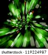 Vector abstract background with blurred defocused lights. - stock photo