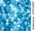 Vector abstract festive background with bokeh defocused lights. - stock