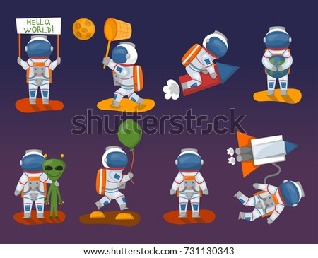 astronauts having fun in space - photo #25