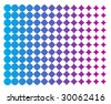 Vector Background Inspired in Halftone Offset Pattern - stock vector