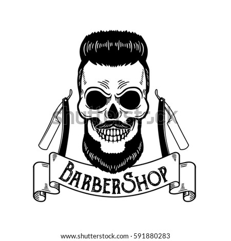 Skull Mexican Hat Guns Stock Vector 282024152 - Shutterstock