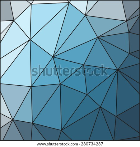 Vector Blue Triangle