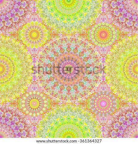 Vector boho chic flower seamless pattern stock vector for Wallpaper unusual designs