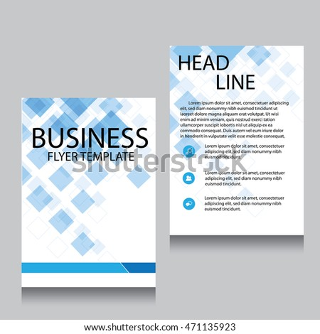 Creative vector templates business brochures nice stock for Nice brochure templates