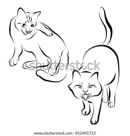 Grumpy Cat Graphic Black And White