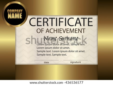 Vector Certificate Appreciation Template Award Winner Vector – Certificate Winner