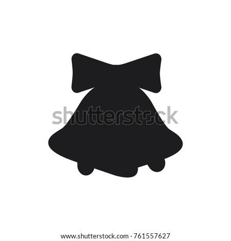 Christmas bells images black and white dress