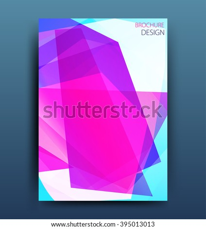 Vector colorful business brochure template or corporate banner design . Modern abstract web, poster ,brochure design template.