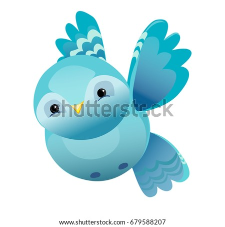 Stock Vector Big Set Birds Birds Flying Animals Bird Silhouette Bird V...