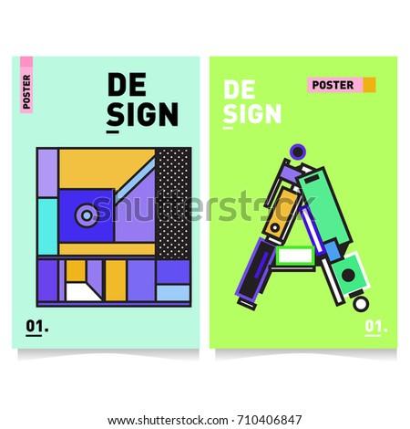 Design Templates Print Flat Fashion Billboard Mockup