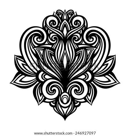 Symetrical Designs vector deco abstract symmetric element design stock vector