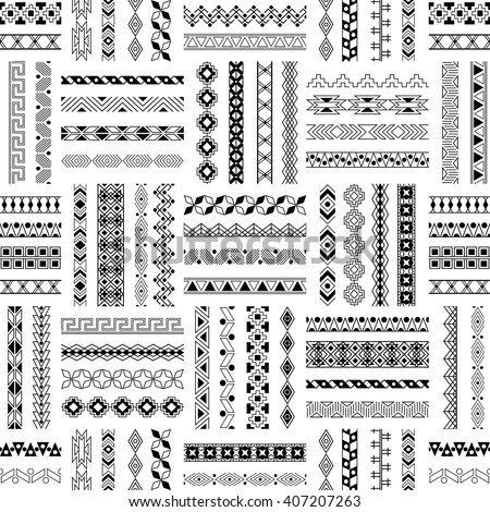 Hand Drawn Textures Brushes Creative Collection Stock Vector 526288633