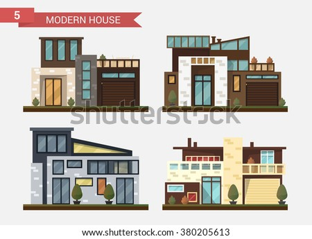Street View Front Snack Bar Cafe Stock Vector 700798120 Shutterstock