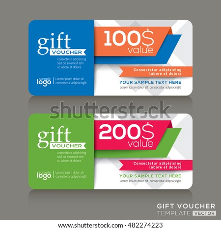 Fitness center gym coupon voucher gift stock vector 318661988 vector gift voucher template with abstract modern design background yadclub Image collections