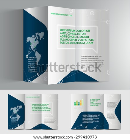elegant brochure templates - abstract brochure monitor design template book stock