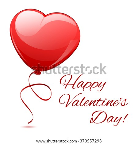 st valentines day vector balloons red stock vector 361443239, Ideas
