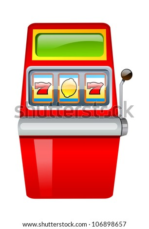 vector icon gamble machine