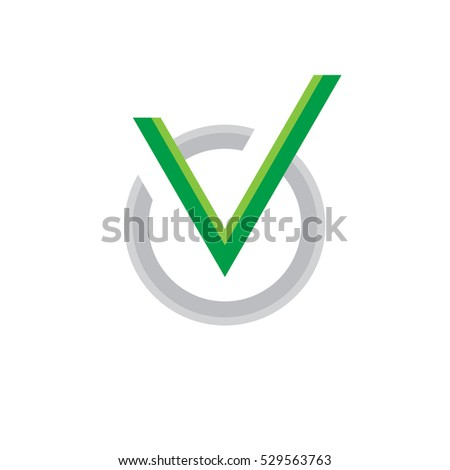 Vector icon of check box. Universal business sign for answer of yes. Concept symbol.